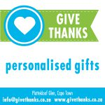 Give Thanks Personalised Gifts